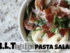 BLTortellini Pasta Salad