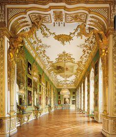 #Munich #Residenz: Green Gallery.