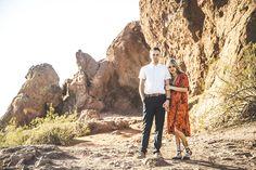 Insta: @kat.ivy   #velvetdress #fallphotos #papagopark #arizonacouple #mensfashion #womensfashion #orangevelvet #coupleshoot #photoideas