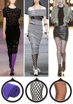 12 Patterned Tights That Will Really Amp Up Your Outfit - For a Wild Night  - from InStyle.com