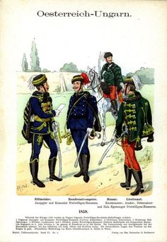 Austrian Empire, Austro Hungarian, War Photography, Napoleonic Wars, Modern Warfare, American Revolution, Hand Coloring, 19th Century, Old Things