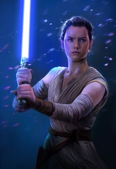 Rey by mehdic. She's become one of my favourite Star Wars characters of all time.