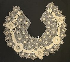 Lace Crochet - Collar    Date:      fourth quarter 19th century  Culture:      Irish