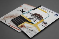 awesome Marketing Brochure Templates Set 1