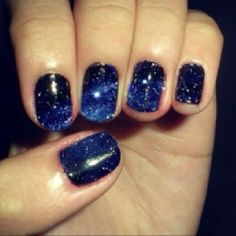 6. What will your manicure look like? #TheHostPremiereParty  It will be navy blue with silver sparkles like the night sky.