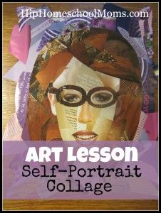 MUST SEE:  Art Lesson: Self-Portrait Collage from our own @Matt Valk Chuah Unlikely Homeschool .  GREAT job Jamie!