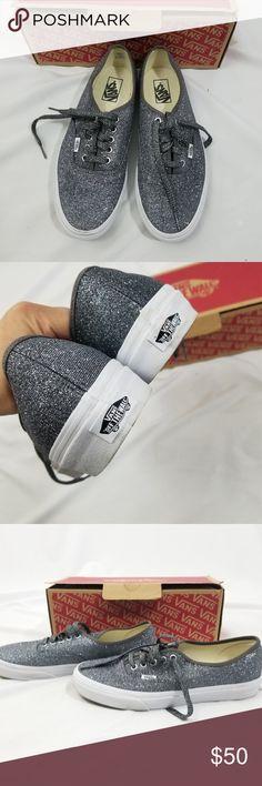 new style c53eb 8fbc4 Vans Lurex Glitter Sneakers Shoes Wo Sz 11 Men 9.5 Up for consideration,  Vans Authentic