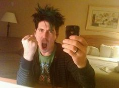 Rocking the morning hair Great Bands, Cool Bands, Marianas Trench Band, Josh Ramsay, Morning Hair, Canadian Boys, Type O Negative, Memphis May Fire, I Am A Queen