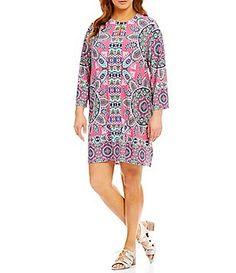 Plus Paisley Keyhole Dress Keyhole Dress, Petite Women, Dillards, Paisley, Cover Up, Casual, Sweaters, Pants, Shopping