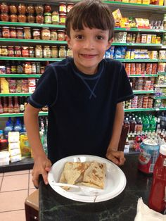 Gianni loves crepes and Nutella