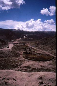 Road to Oruro, Bolivia
