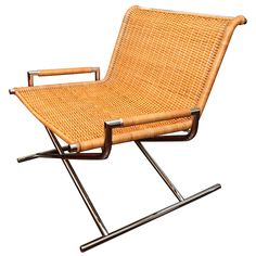 Sled Chair designed by Ward Bennett.
