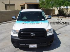 High quality and high resolution vinyl truck wrap for Honda of the Desert. Contact us DesertWraps.com 760-935-3600  #TruckWrap #Toyota #Tundra