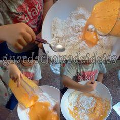 Aventuras do SAM: Bolo de Cenoura - Brincando na Cozinha
