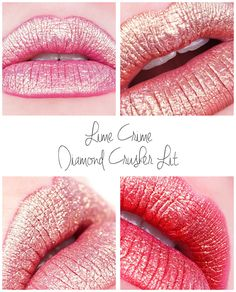 Lime Crime x 9 Lit, Polly, Riley und einige mehr - mel et fel Glitter Makeup, Lip Makeup, Makeup Tips, Diamond Crushers, Makeup Blending, Lime Crime, Magical Makeup, Lip Tar, Makeup Swatches