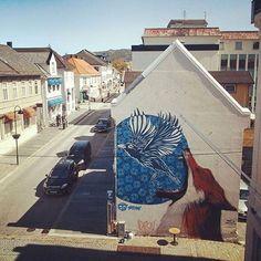 47 vind-ik-leuks, 1 reacties - STREET ART RAT 🐀 (@streetartrat) op Instagram: '🐀 🖌 Artist: Stew, Newton 🌐 Location: Florø Havn, Norway 📷 Photo: repost - check out @stew_artist…'