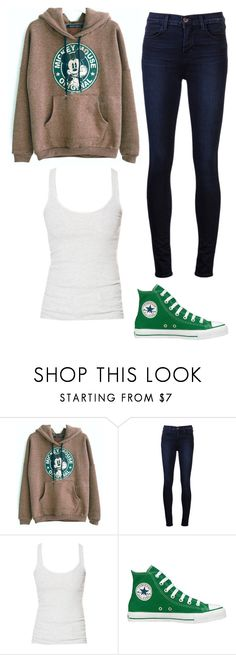 """""""Untitled #255"""" by i-see-stars-2002secondaccount ❤ liked on Polyvore featuring J Brand, Zara and Converse"""