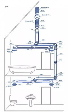 Heat Recovery Ventilation, Ventilation System, Plumbing, Bathrooms, Floor Plans, Building, Home, Design, Tiny Houses