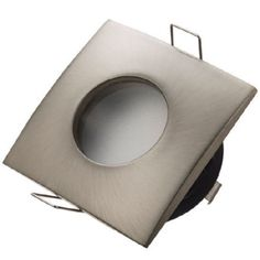 Obrázok pre Stropné bodové podhľadové vodeodolné svietidlo pevné OMIKRON hladké (matný chróm)