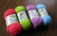 Bamboo&Cotton Duet Alize yarn, natural yarn, cotton yarn. bamboo yarn, cotton blend, crochet yarn, knit yarn, summer yarn, yarn for sale