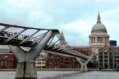 42 Millennium Bridge. Foster & Partners, Arup y A. Caro 2002. Londres 345 | Flickr: Intercambio de fotos