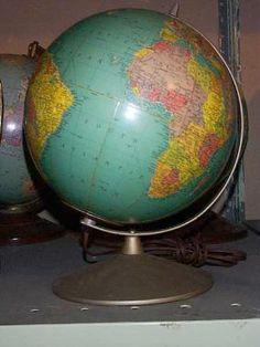 Globes Antique Rare Historic Vintage