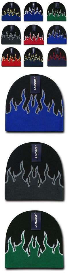 Hats 57884: 1 Dozen Boys Girls Kids Youth Decky Fire Flame Beanies Caps Hats Wholesale Lot -> BUY IT NOW ONLY: $54.99 on eBay!