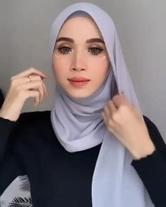 Modest Fashion Hijab, Stylish Hijab, Modern Hijab Fashion, Street Hijab Fashion, Casual Hijab Outfit, Hijab Fashion Inspiration, Hijab Dress, Muslim Fashion, Hijab Turban Style
