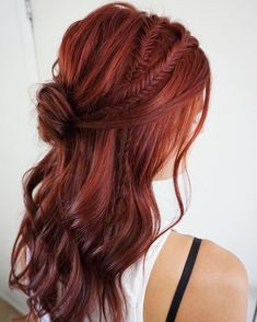 Skinny fishtail braids | simple bun