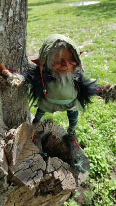 Wild Creatures, Woodland Creatures, Magical Creatures, Goblin, Kobold, Elves And Fairies, Fairy Figurines, Baby Fairy, Vintage Witch