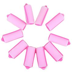 HDE 1' Soft Foam Hair Rollers Cushion Salon Curlers - 8 Pack -- Details can be found by clicking on the image.