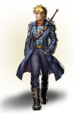 Isaac in Golden Sun: Dark Dawn, which takes place 30 years after the first two games.
