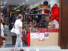 Tienda con pañuelos de San Fermín Pamplona, Store