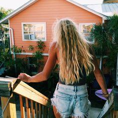 surf hair dont care #ELLE[MER] swimwear