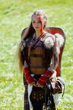 In combat, she scored 1 wounded before Alicia had her pulled from battle,Though typically a Bareskin,she does not yet have the skills to go in to combat unarmored.Or the ruthlessness she will need. Warrior Girl, Fantasy Warrior, Fantasy Girl, Warrior Women, Viking Warrior, Viking Woman, Larp, Fantasy Characters, Female Characters