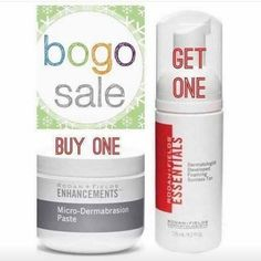 FLASH SALE! Anyone who buys our Micro-Dermabrasion Paste today will get a FREE Foaming Sunless Tan (retails for $24). * You don't have to sign up to be a Preferred Customer to get this deal * One jar of Micro-Dermabrasion Paste lasts about 6 months with 2-3 times per week use * You pay the retail price ($78) and I'll pay the taxes and shipping