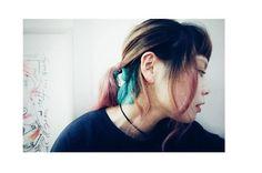 WEBSTA @ bluepafe_kota - もう直ぐ桜の季節って事で薄いピンク入れてみました襟足にはグリーンを入れてポップに#ヘアカラー#ブリーチ#ヘアマニキュア#マニパニ#ペールカラー#サロンスタイル#サロンワーク#ポートレート#写真#ショートバング#ヘアアレンジ#haircolor #salonwork #salonstyle #portraits #photography #shortbangs #hairstyle #つくば #つくば美容室 #ブルーパフェ