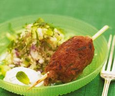 Lammkebab med couscoussallad   #recept #lamm #pask #norrmejerier