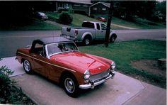 1964 Austin-Healey Sprite - VICTORIA BRITISH LTD. http://www.britishsportscarlife.com/blog/2014/9/13/david-ordorisio-his-64-sprite http://www.victoriabritish.com