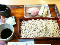 Kamo-nanban. Soba noodles with duck filet.
