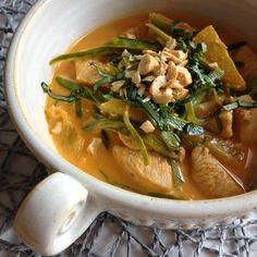 Greenway36: Red Thai Curry mit Hähnchen, Ananas und Zuckerschoten