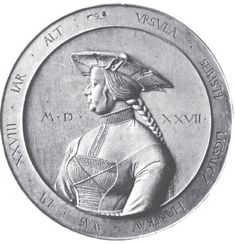 Ursula wife of Sebastian Ligsalcz in 1527 (at 28 years old)