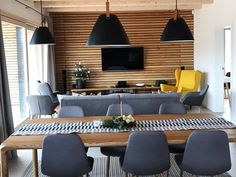Conference Room, House Design, Architecture, Table, Furniture, Home Decor, Arquitetura, Decoration Home, Room Decor