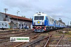 CRÓNICA FERROVIARIA: Los trenes de prueba entre Buenos Aires y Mar del ...