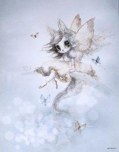 Art Wall Kids, Art For Kids, Wall Art, Unicorns And Mermaids, Illustrations, Kids Prints, Baby Room Decor, Kawaii, Cute Art