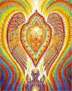 Alex Grey Trippy Psychedelic Art Silk Poster Print inch Abstract Pictures for Living Room Wall Decoration 008 Psychedelic Art, Art Abstrait Gris, Alex Grey Paintings, Art Gris, Alex Gray Art, Grey Abstract Art, Art Visionnaire, Psy Art, Process Art