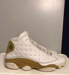 newest 74263 e9577 RARE🔥 Nike Air Jordan XIII 13 Retro White Wheat 2004 LE Size 15 309259-171   shoes  kicks  sneakerheads