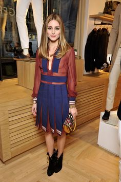 Olivia Palermo Champions American Style in Paris in Tommy Hilfiger.