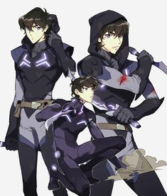 Keith in Blade of Marmora from Voltron Legendary Defender