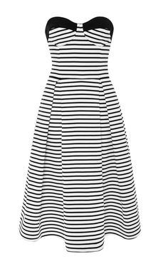 Breton Stripe Ball Dress by Nicholas for Preorder on Moda Operandi
